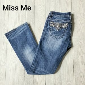 MISS ME MID RISE EASY BOOT JEANS  ~